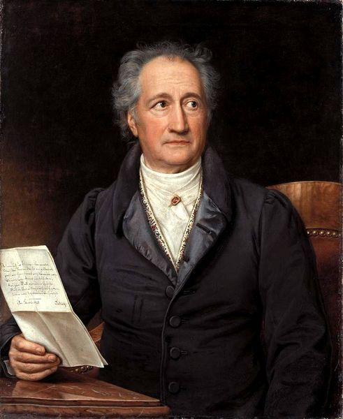 Иоганн Вольфганг фон Гете.