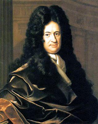 Gottfried von Leibniz.