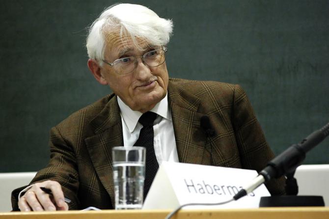 Juergen Habermas.