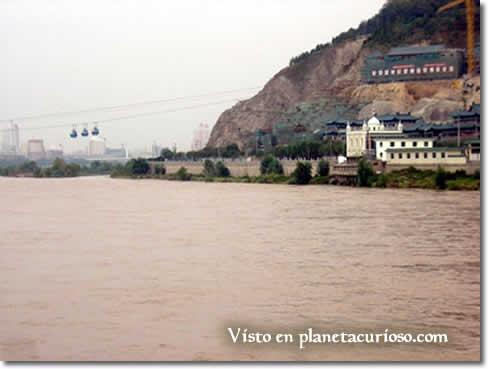 Yellow River or Huang He