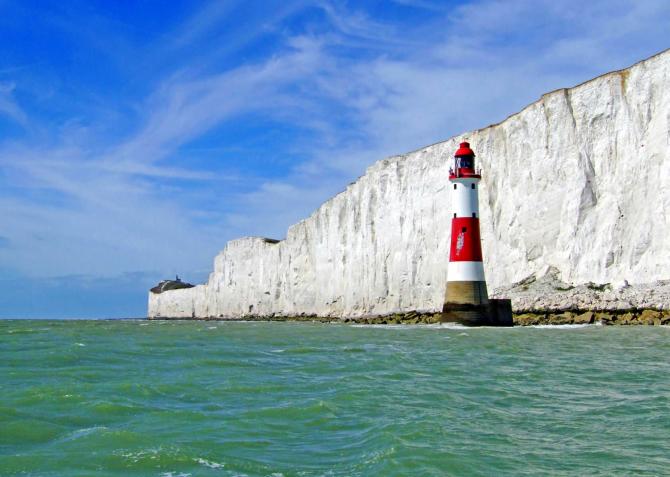 Beachy Head Lighthouse (Inglaterra)