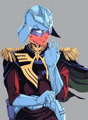 Chars Aznable - (Mobile Suit Gundam and Mobile Suit Zeta Gundam)