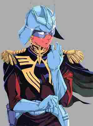 Chars Aznable - (Mobile Suit Gundam y Mobile Suit Zeta Gundam)