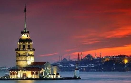 Farol de Kiz Kulesi (Turquia)