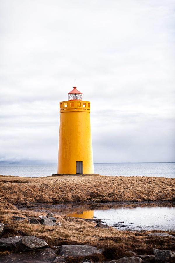 Farol em Keflavik (Islândia)