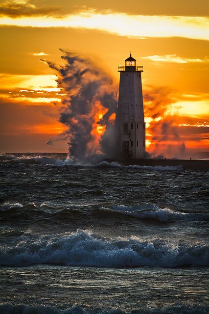 Frankfort North Lighthouse (United States)