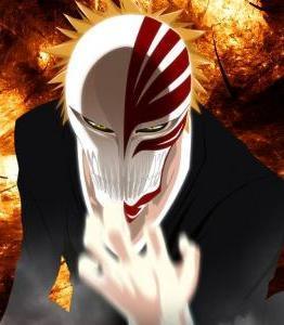 Ichigo Kurosaki Mascara Vizard - (Bleach)