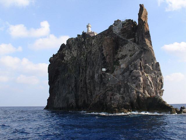 Ilha Strombolicchio (Itália)