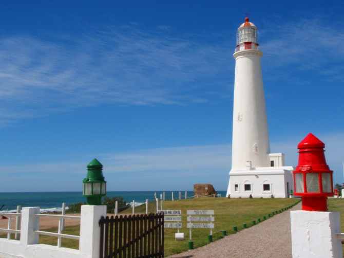 Lighthouse of Cabo Santa María (Uruguay)