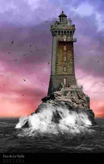Lighthouse of la Vieille (France)