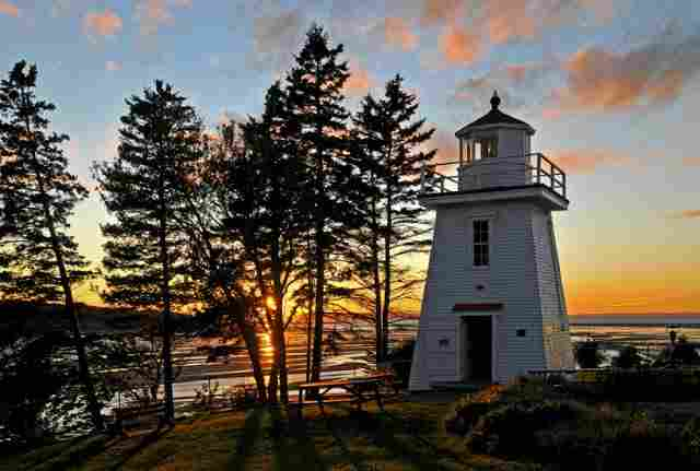 Walton Harbor Lighthouse (Canada)