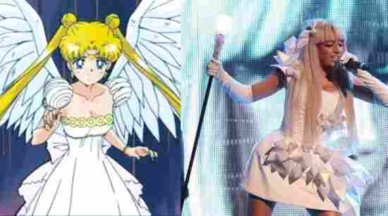 Lady Gaga și Sailor Moon