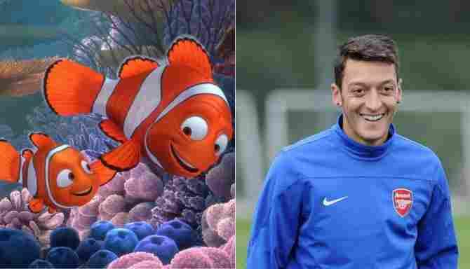Mezut Özil and Nemo