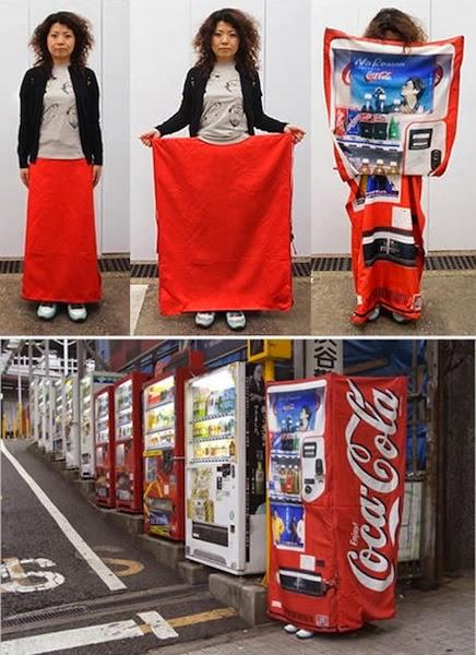 A máquina de venda automática portátil