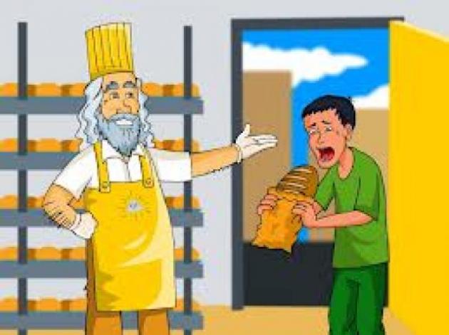 Deus dá pão aos desdentados