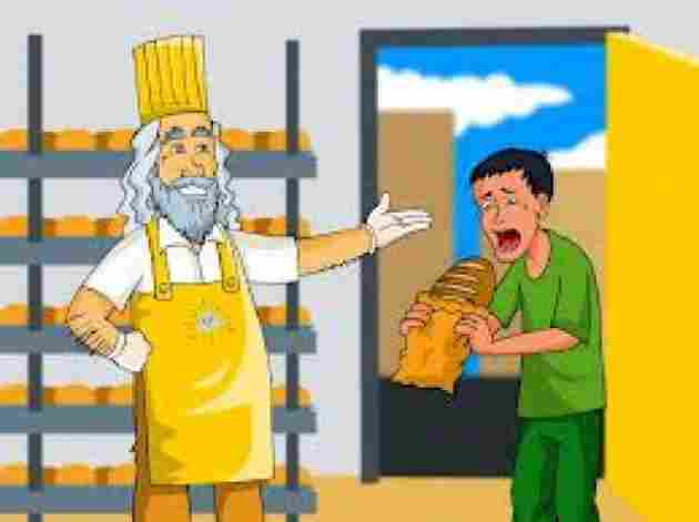 God Gives Bread To The One Who Has No Teeth