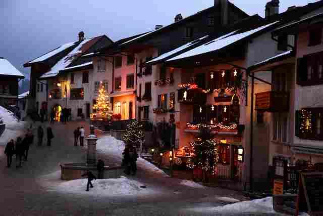 Gruyéres (Suiza)