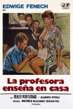 La profesora enseña en casa