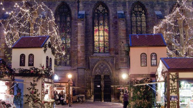 Pueblos que parecen sacados de un cuento de Navidad