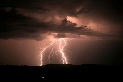Une tempête arrive