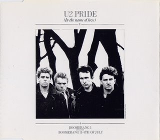 PRIDE (IN THE NAME OF LOVE) - RATTLE AND HUM