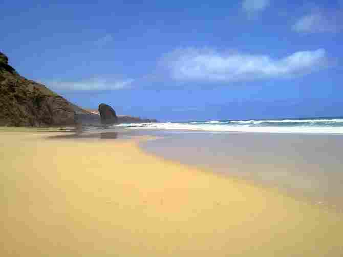 Beach of Cofete (Fuerteventura)