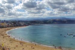Beach of Las Canteras (Gran Canaria)