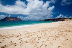 Beach of Las Conchas de Teguise (La Graciosa)