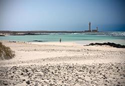 Beach of the Concha de El Cotillo (Fuerteventura)