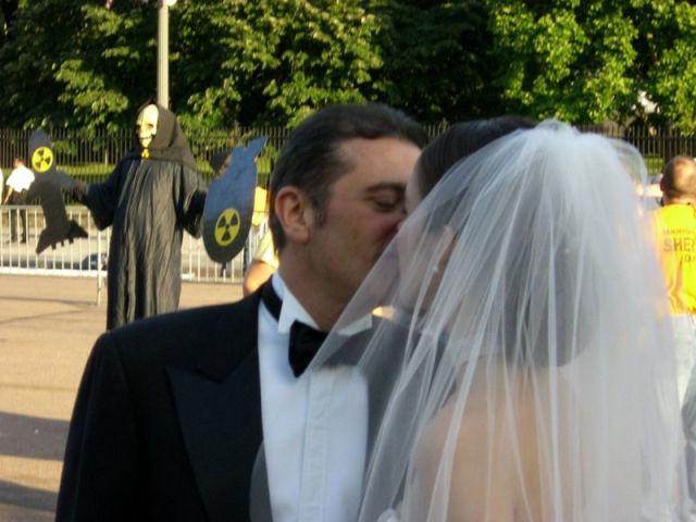 Mariage avec un peu de mauvaise ambiance ....