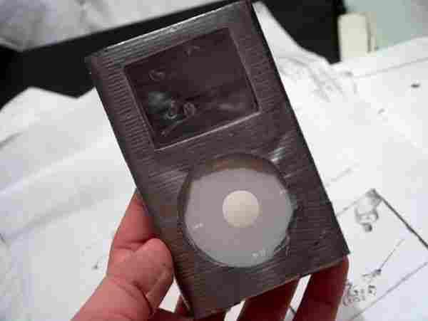 iPodのケースになる