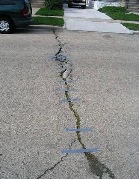 Reparera vägen