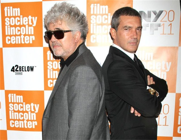 Almodóvar and Banderas