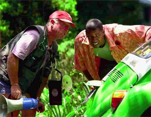Tony Scott e Denzel Washington
