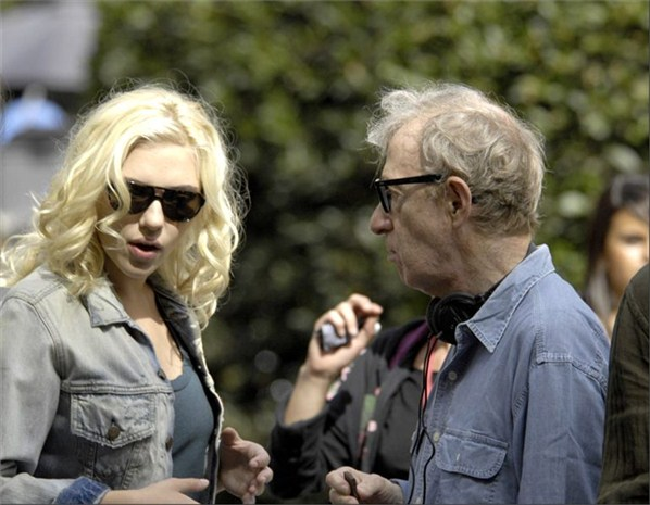 Woody Allen and Scarlett Johansson