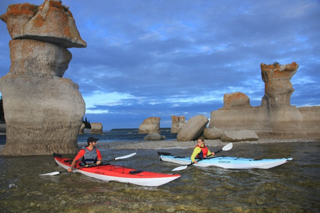 Заповедник Минганский архипелаг