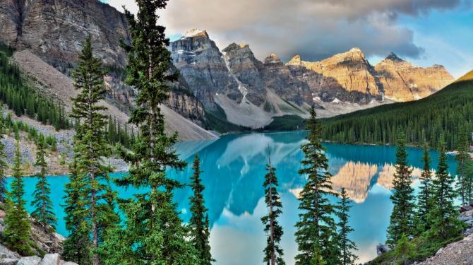 Самые красивые национальные парки Канады