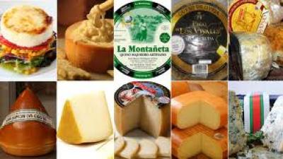 Os melhores queijos da Espanha