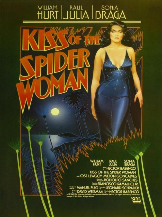 Le baiser de la femme araignée (1985)