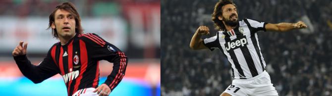 Andrea Pirlo (AC Mailand - Juventus)