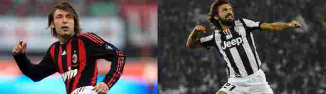 Andrea Pirlo (AC Milan - Juventus)