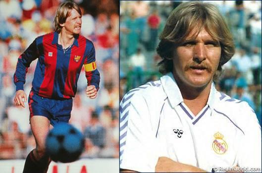Bernd Schuster (FC Barcelona - Real Madrid)
