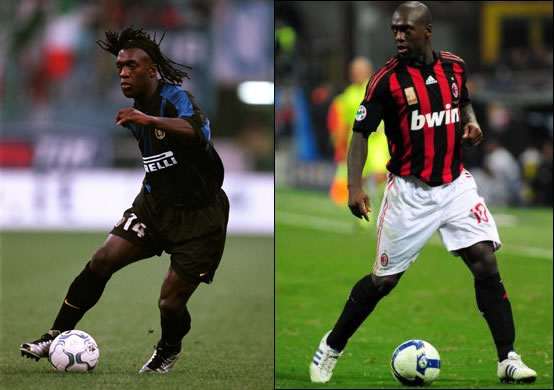 Clarence Seedorf (Inter Mailand - AC Mailand)