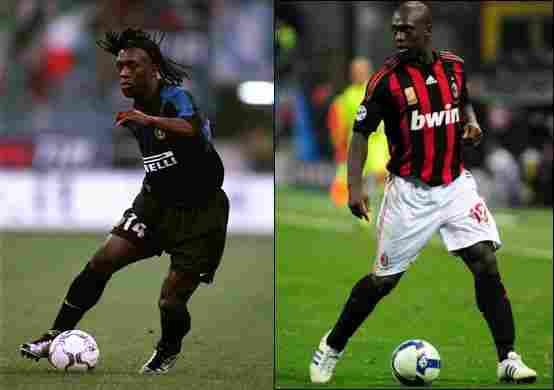 Clarence Seedorf (Inter Milan - AC Milan)