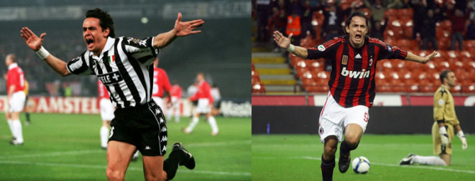 Filippo Inzaghi (Juventus - AC Mailand)