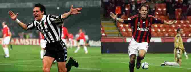 Filippo Inzaghi (Juventus - AC Milan)