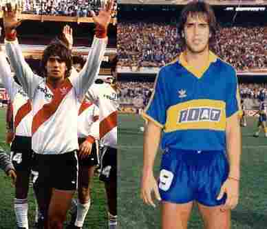 Gabriel Batistuta (River Plate - Boca Juniors)