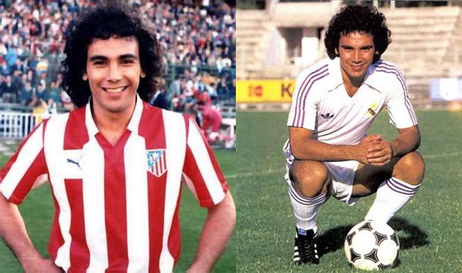 Hugo Sanchez (Atletico de Madrid - Real Madrid)