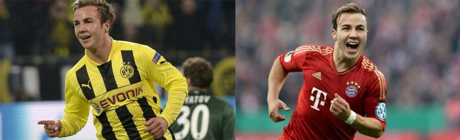 Mario Götze (Borussia Dortmund - Bayern Munidch)