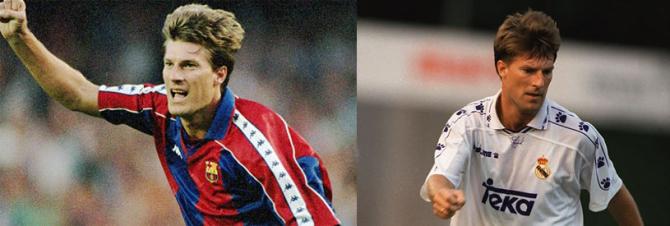 Michael Laudrup (FC Barcelona - Real Madrid)